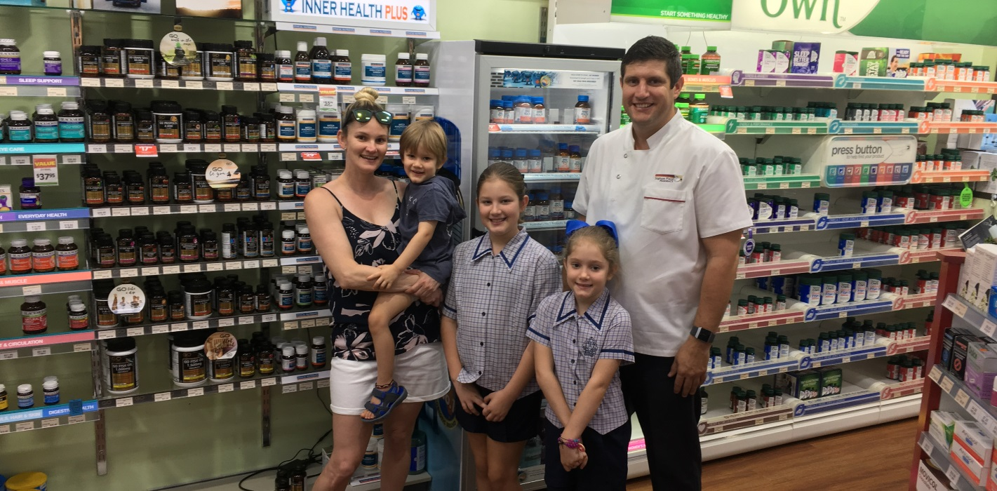 Ingham Plaza Pharmacy Owner Brenden Seri