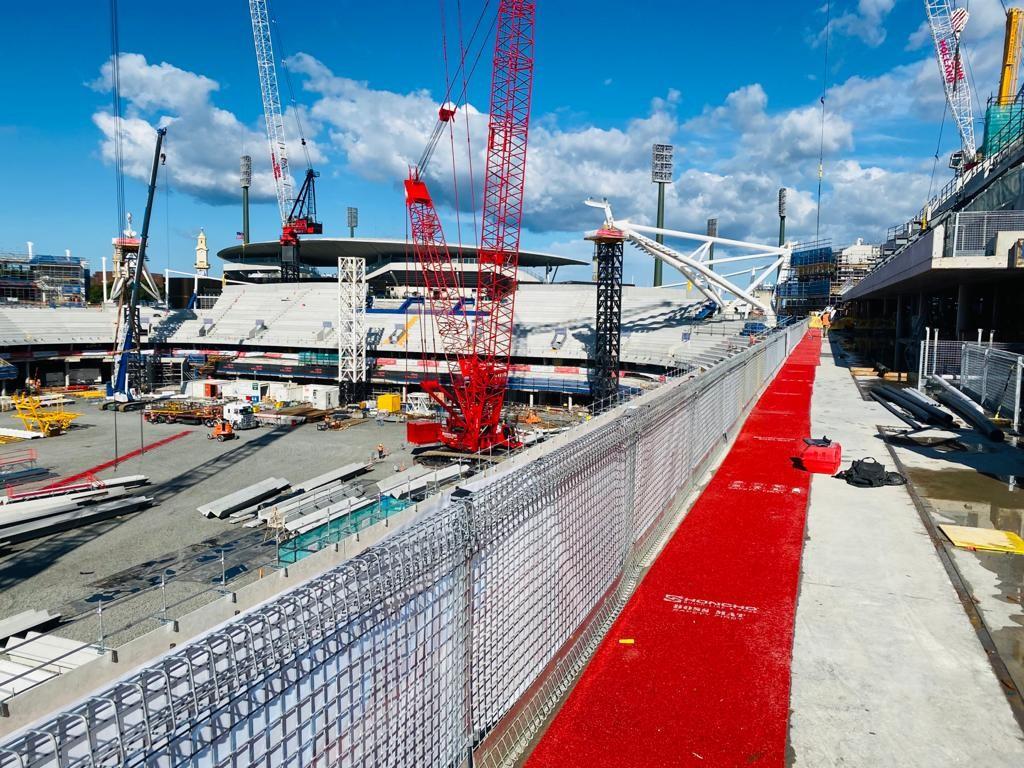 Honcho Boss Mat on the Sydney Football Stadium redevelopment