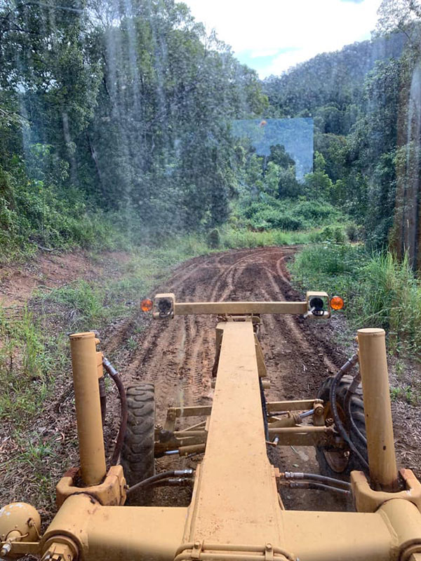 Koker-Civil-View-from-the-Grader's-Drivers-Seat-Nimbin