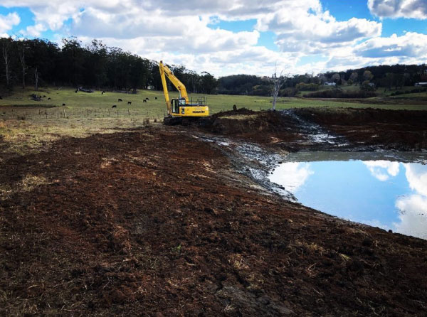 Dam Construction and Dam Cleaning