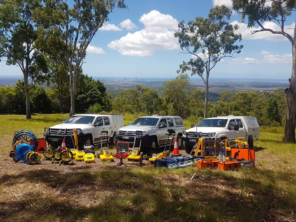 LADS - Locate And Detection Specialists fleet service all equipment Gold Coast Hinterland