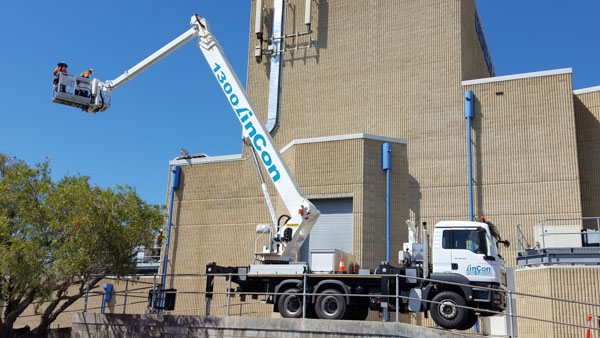 Commercial electrical maintenance work