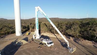 WT1000 Travel Tower Crane