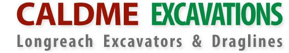 Caldme Excavations-logo