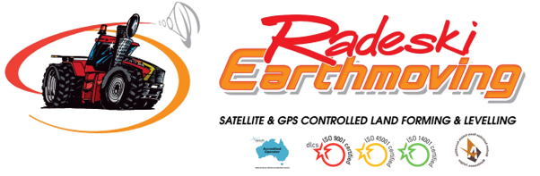 Radeski Earthmoving Logo