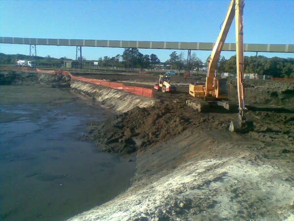 Caldme Excavations - marine construction service