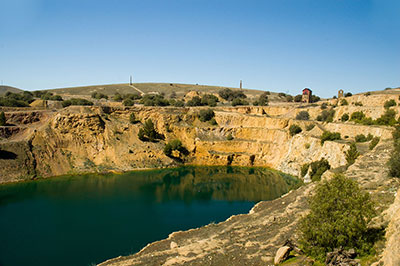 Mining site water