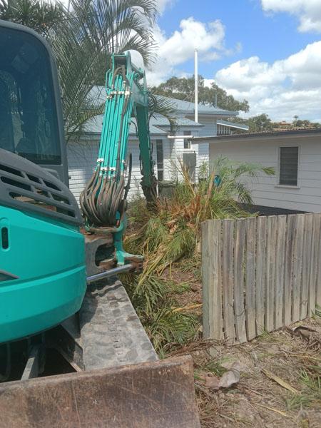 Yard clearing