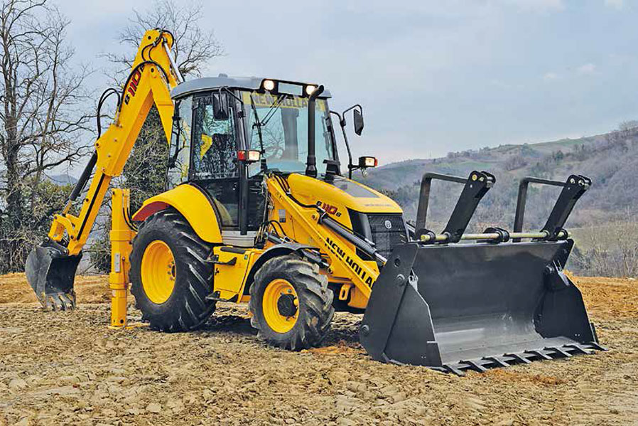 NEW EQUIPMENT New Holland B90B Backhoe