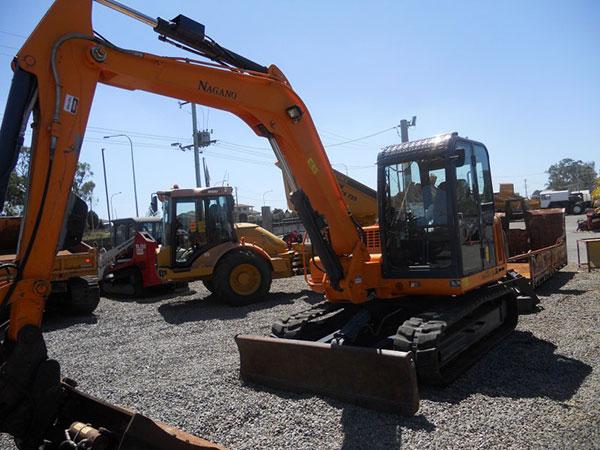 Nangano 7.5t Excavator Hire Toowoomba