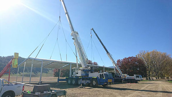 National-Cranes-and-Engineering-roof-complete-install-crane-truck-hire