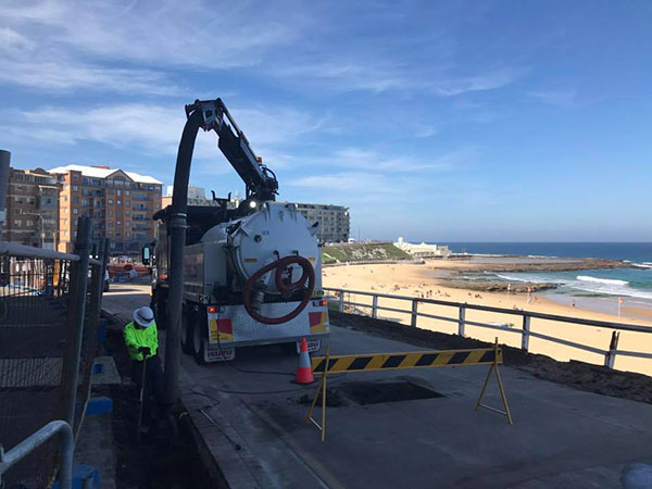 Newcastle-Locating-Services-beach-vacuum-excavation