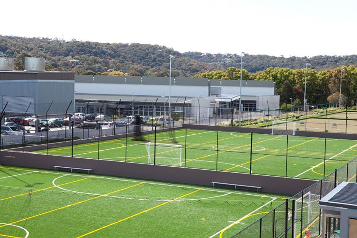 Synthetic Playing Field Construction by Northern Contracting Group