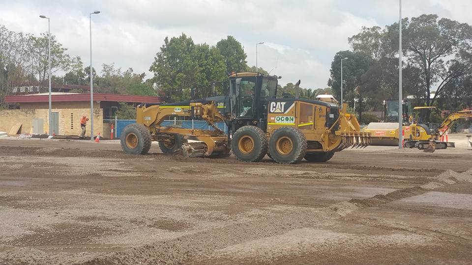 OCON Services 14M Grader Caterpillar