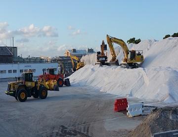 OCON Services loading material bulk