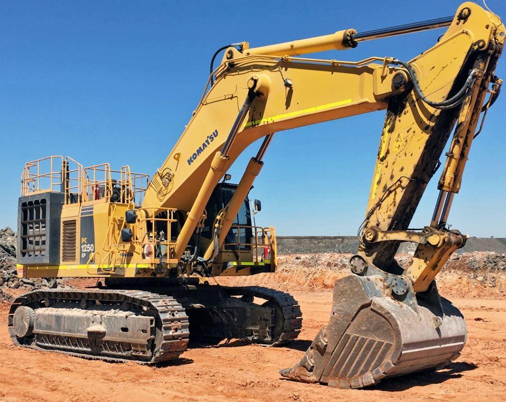 2016 Komatsu PC1250 Excavator