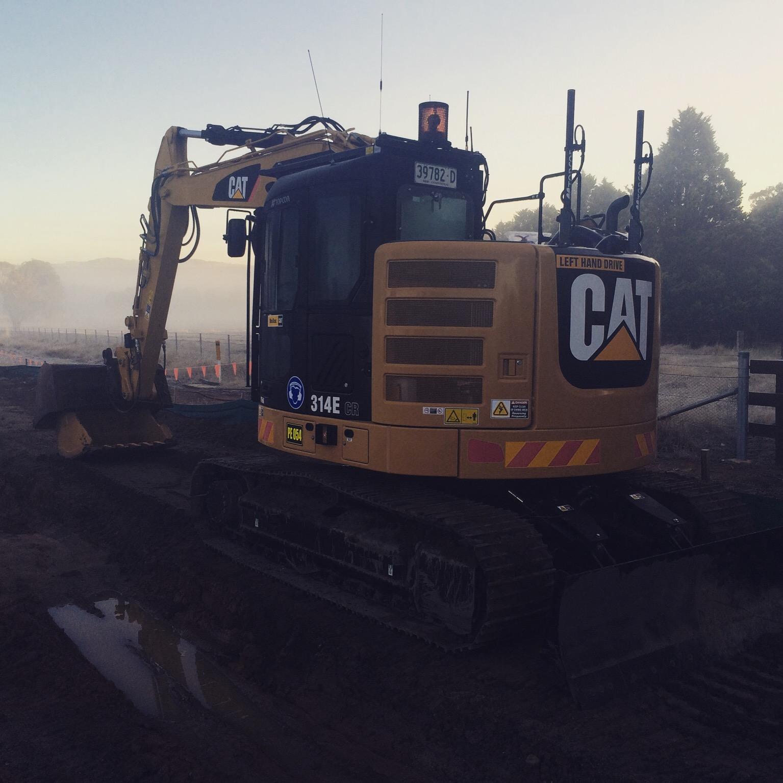Excavator Cat 314E