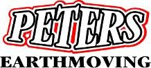 Peters earthmoving logo