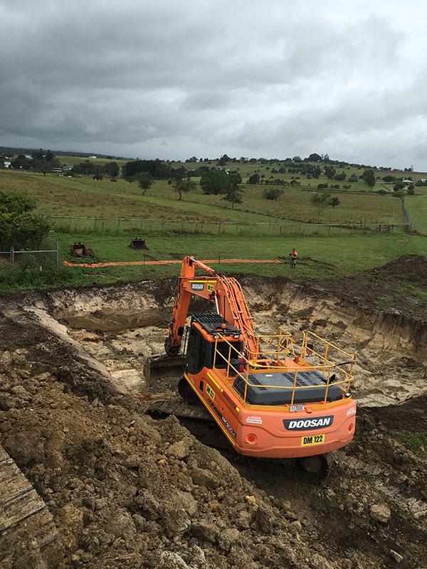 Phoenix-Fuel-Systems-Haigslea-excavator-doosan