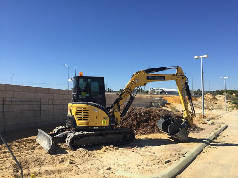 Pipelines Technics Excavator 5