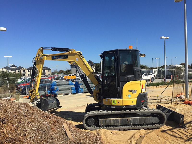 Pipelines Technics Excavator 6