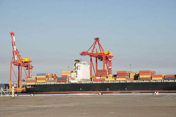 Port side dock