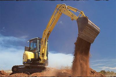 Proquip Excavator dirt