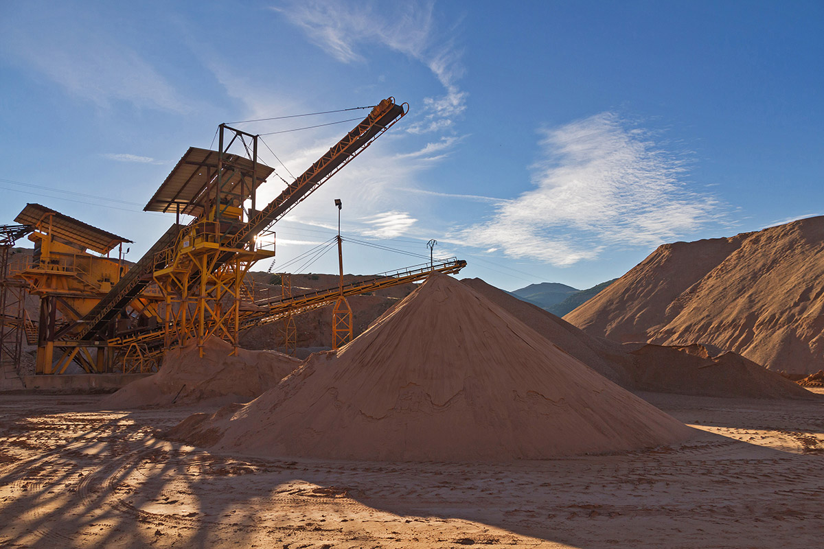 Quarrying---materials---conveyor-belts