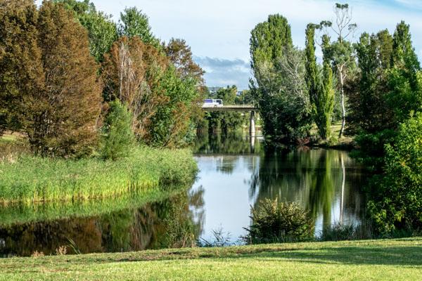 River in Queanbeyan