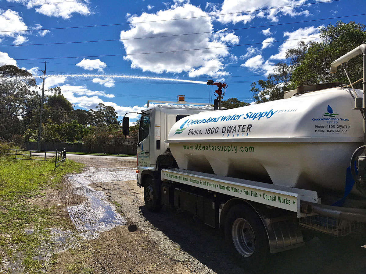 Queensland Water Supply - Water Truck for Hire