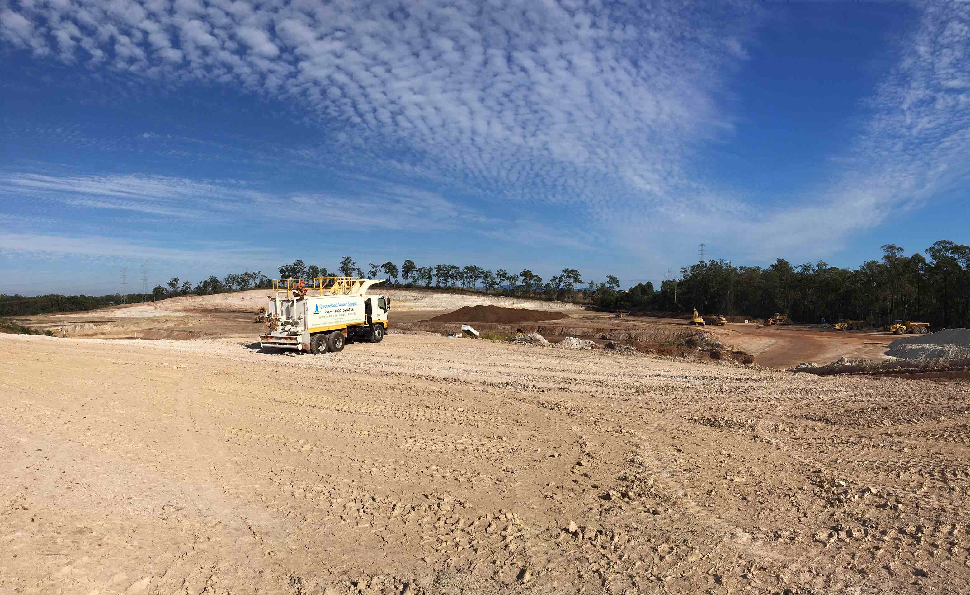 Water Cart civil construction QLD Water Supply