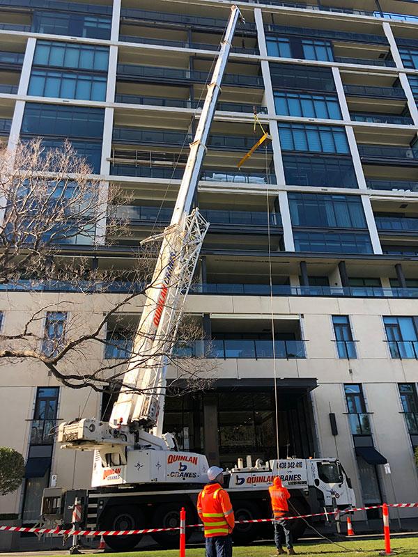 Quinlan-Cranes-highrise-lift-mobile-crane-truck-hire-Melbourne