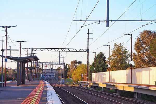 Rail way station