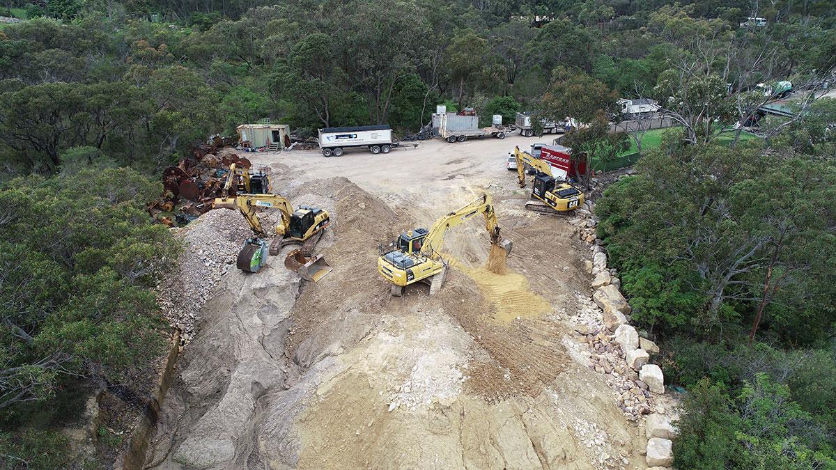 Rick-Davis-Contracting-Excavator-Earthmoving-Sydney