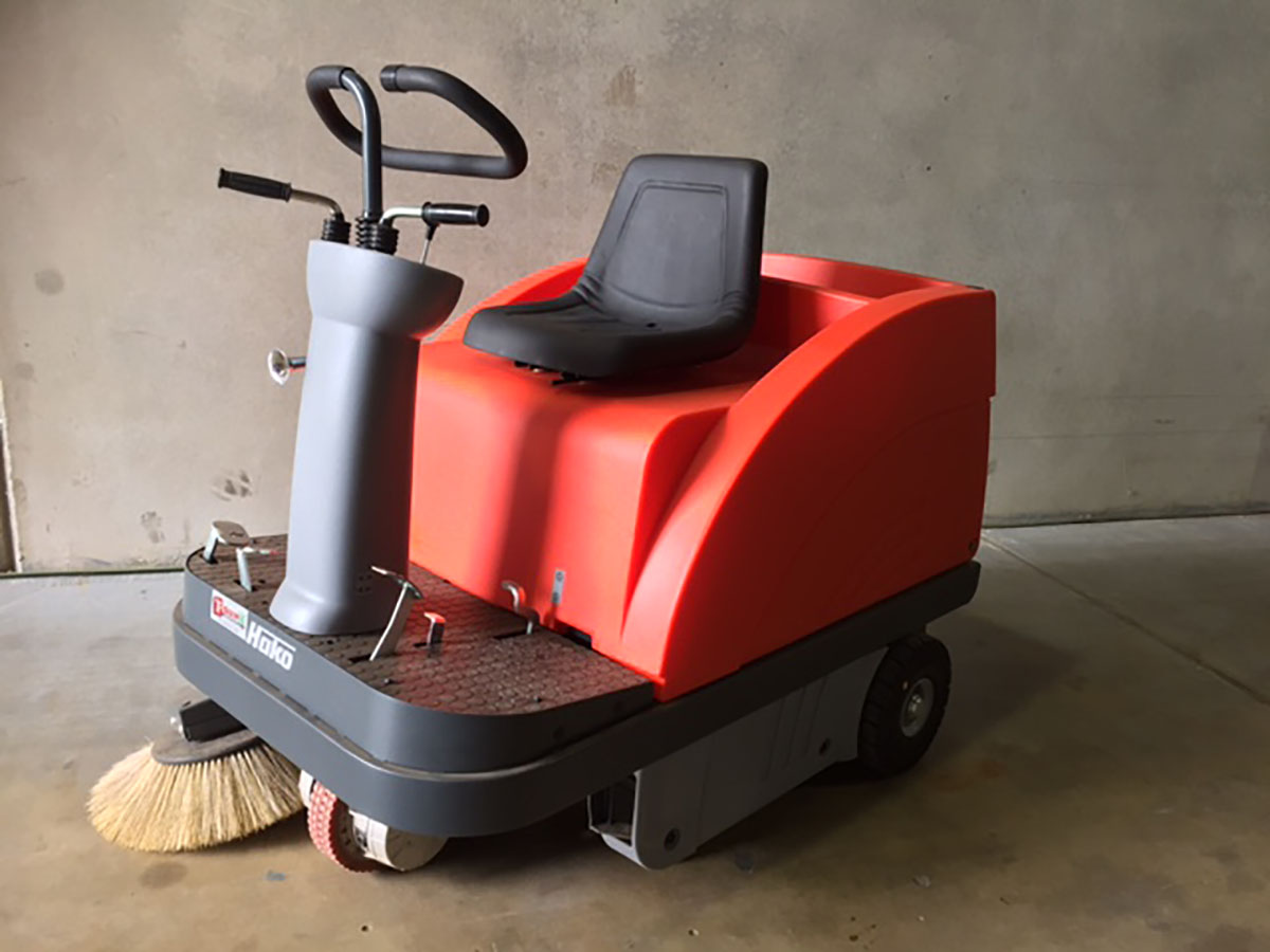 Ride On Electric Sweeper 3