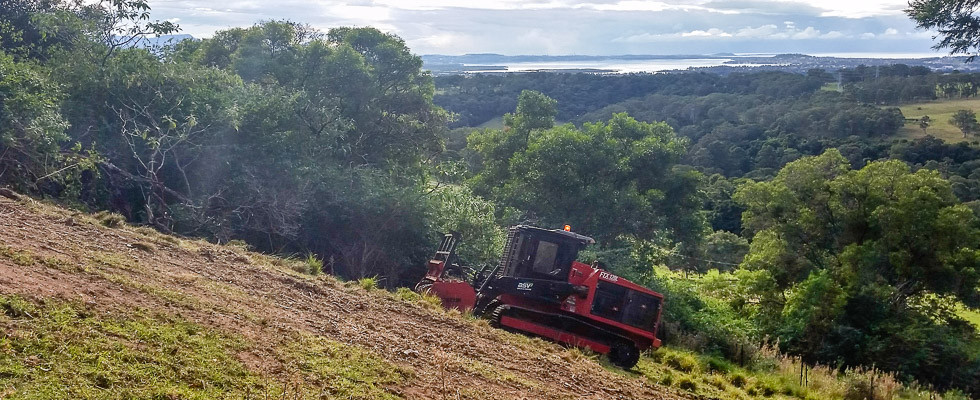Sustainable Land Clearing Solutions returning nutrients to the topsoil