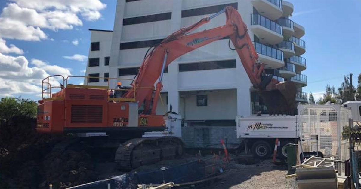 McManaway Excavator and Truck