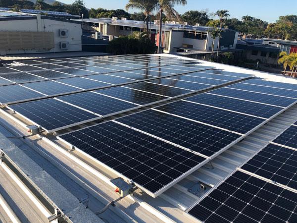 Small solar farm