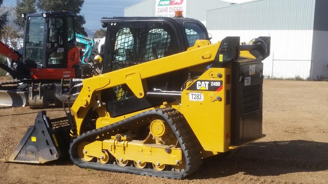 Hume Hire fleet of bobcat skid steer