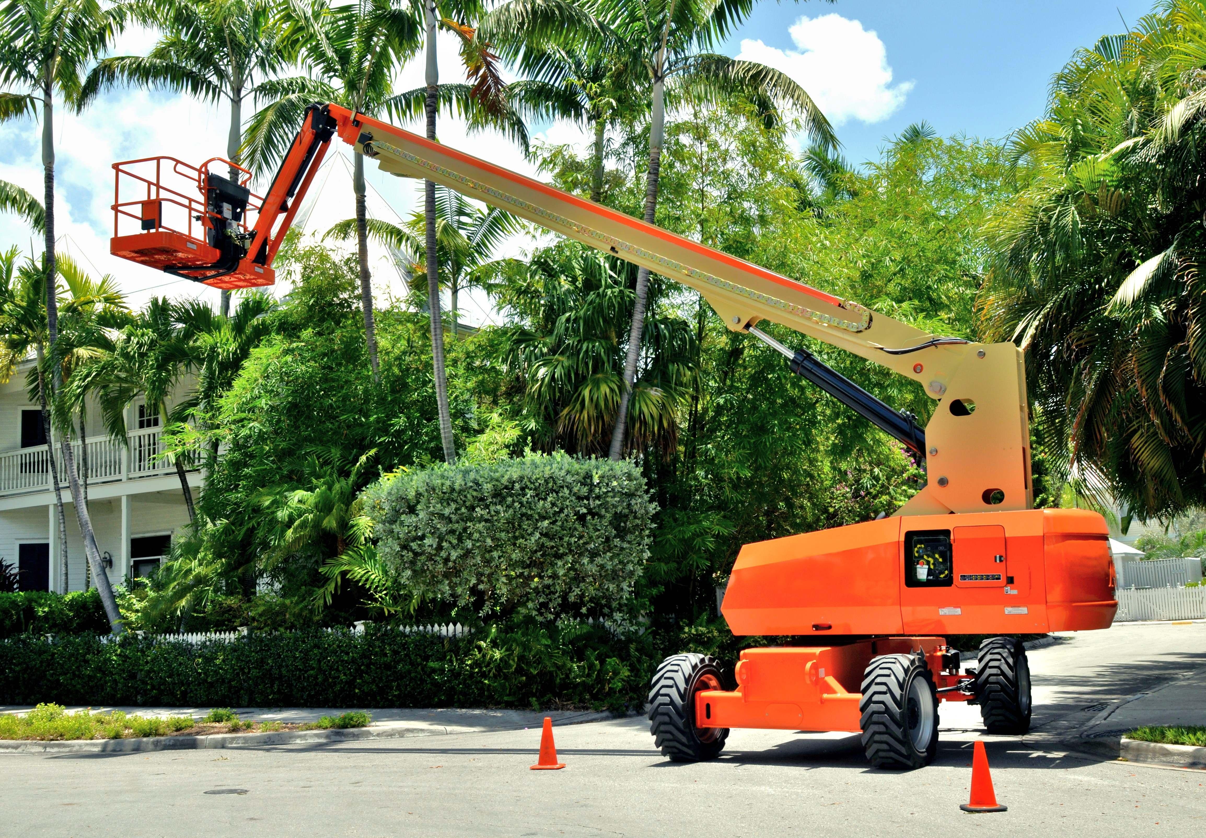 Trucks, Crane, Excavator