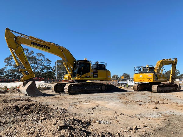 SubTerra-Tier 1 and Tier 2 Projects - Excavator-On-Site-4-Sydney