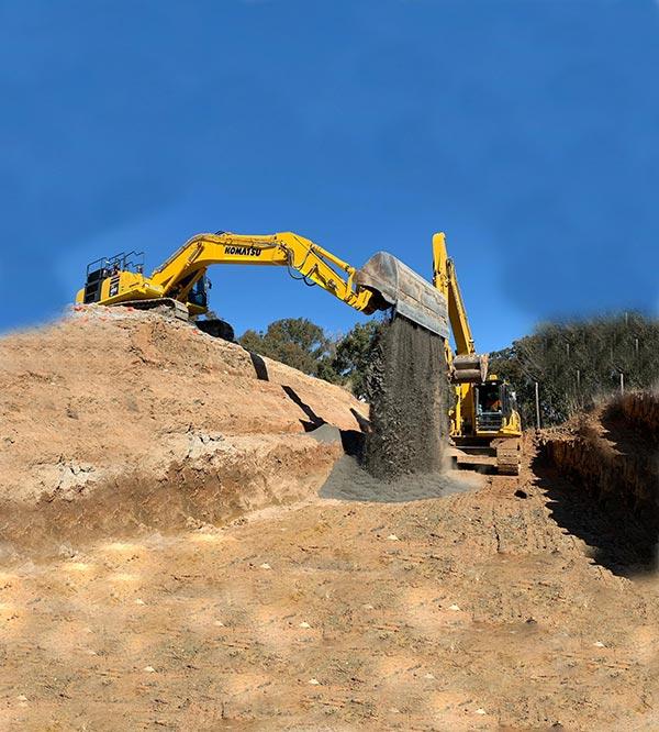 SubTerra-Roadwork Services - Excavator-On-Site-4-Sydney