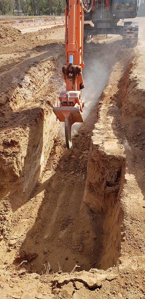 SubTerra-Bulk Excavation Services - Excavator-On-Site-4-Sydney