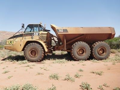 Suffren Contracting Articulated dump truck hire