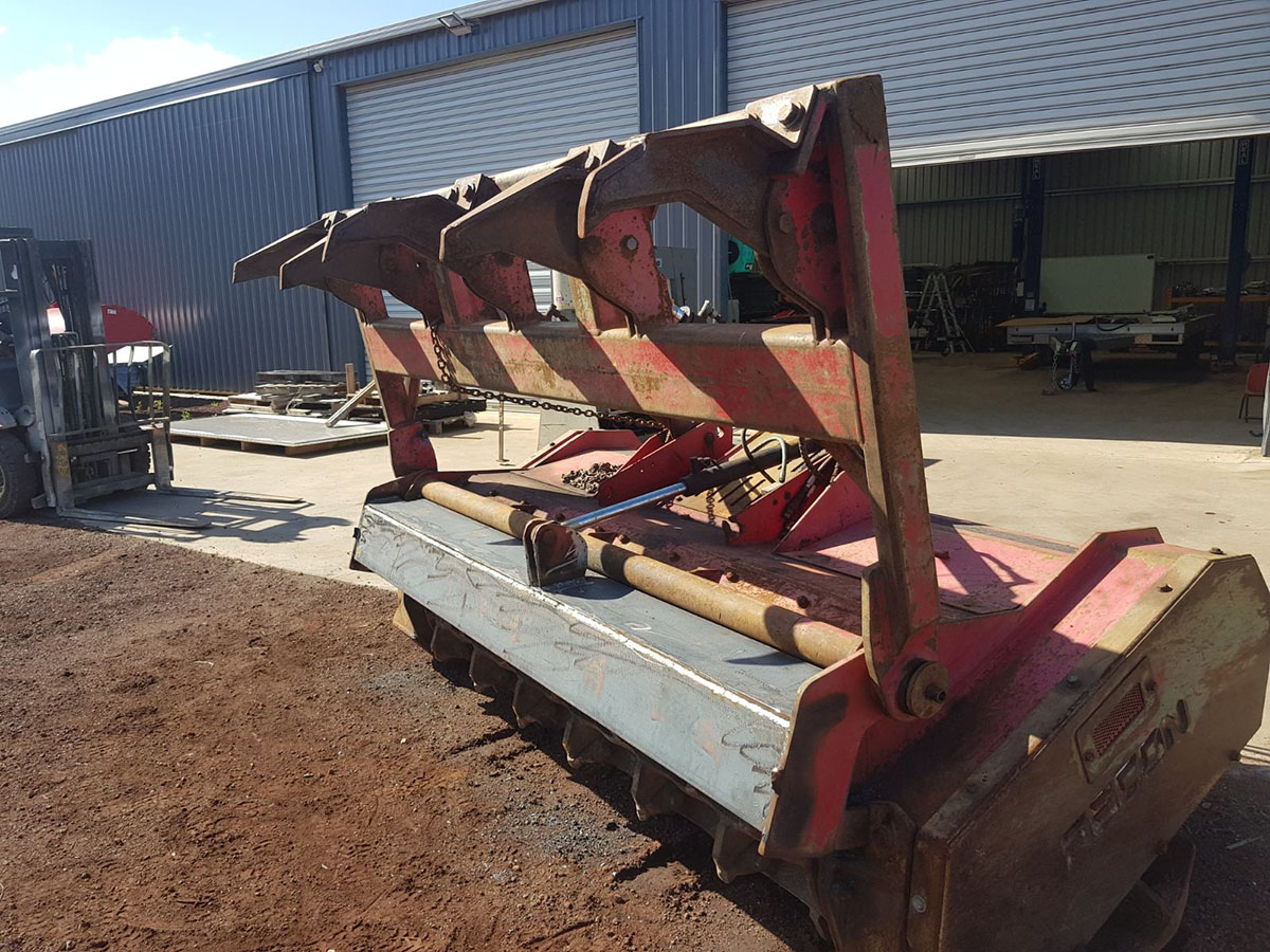 Sustainable Land Clearing Solutions Chipper attachment