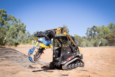 Sweeney Hire Posi Tracks and Attachments Peel