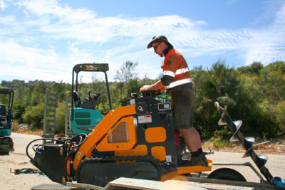 Sweeney Hire Mini Loaders and Attachments Peel