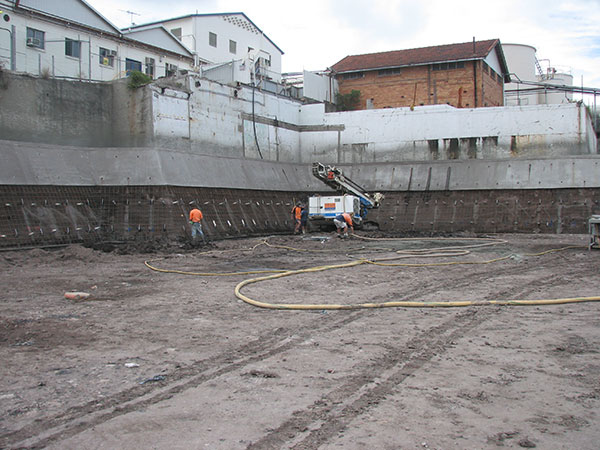 TEAM Rock Anchors Shotcrete Services Queensland