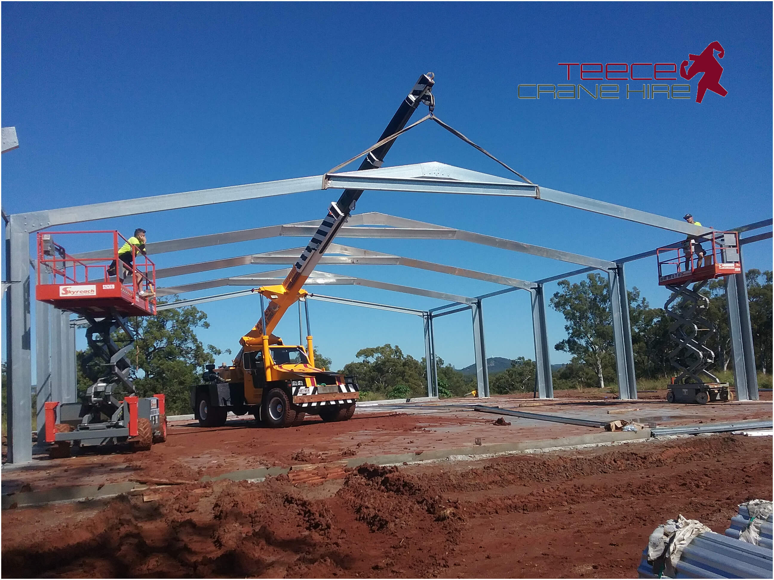 Teece Crane Hire - Lift And Shift With A Franna And Mobile Crane Rental - Brisbane