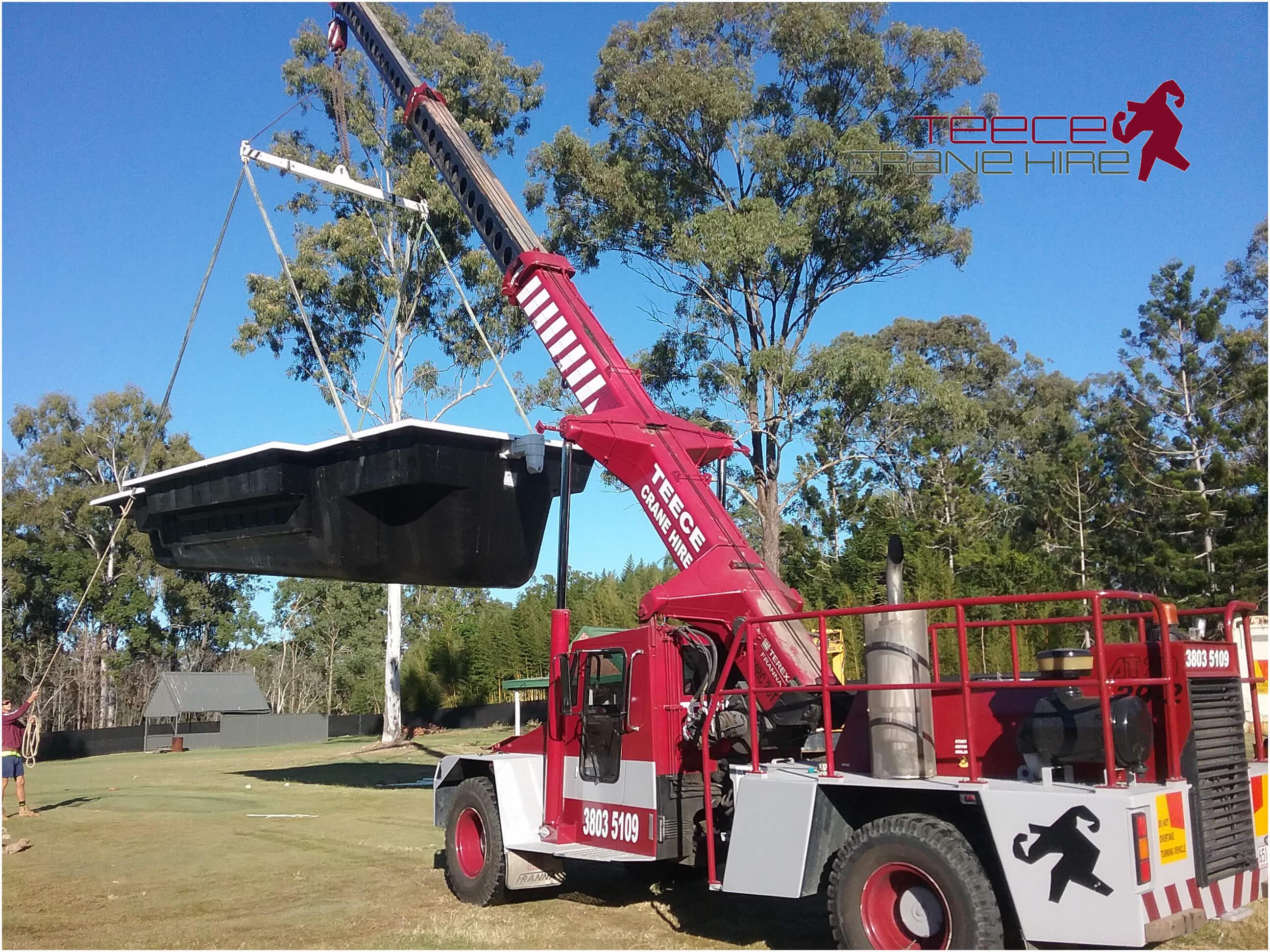 Teece Crane Hire - Mobile Crane - Brisbane